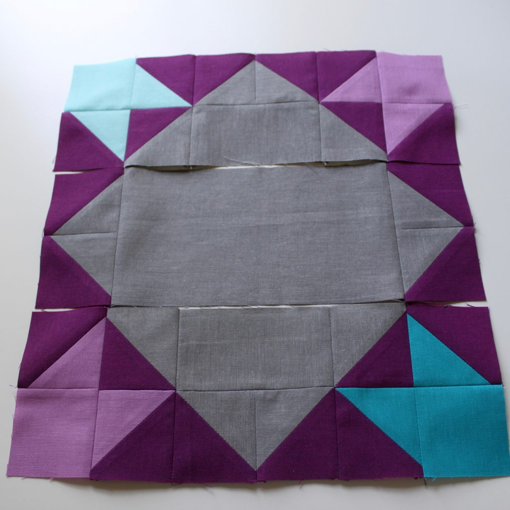 Heading Out - free quilt block tutorial by Leland Ave Studios/Kim Soper
