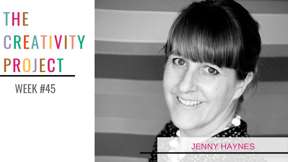 Jenny Haynes The Creativity Project Week #45 Leland Ave Studios Kim Smith Soper